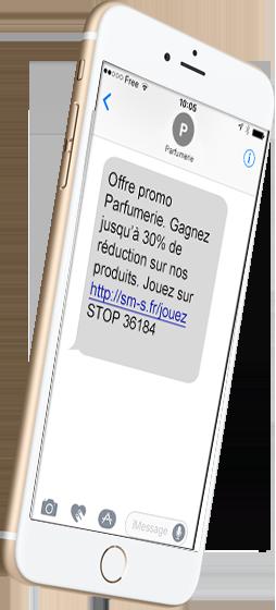 prospection sms